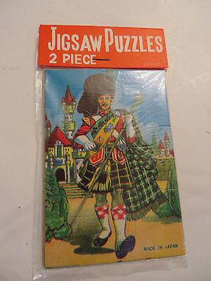2 Piece Vintage Original JAPAN TOY DIME STORE DISCOUNT Puzzles in Packs 1960s](Discount Puzzles)