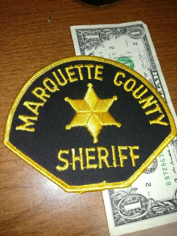 Marquette County South Dakota Sheriff Department Patch New Old Stock
