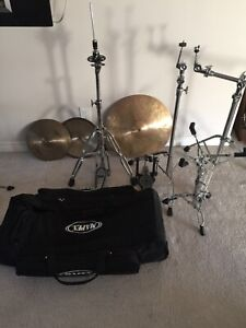 Drum set stands / hardware pack for sale. BEST OFFER TAKES IT