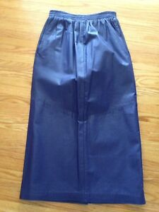 Beautiful lined purple leather skirt - dropped price