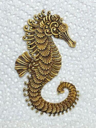 Harmony Kingdom Artist Neil EyreDesigns Filigree Ocean Seahorse Sea Horse magnet