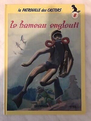 BD La Patrouille Des Castors Le Hameau Englouti Mitacq Dupuis 1986 Cartonner
