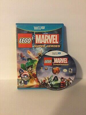 LEGO Marvel Super Heroes - Wii U - Fast Shipping!