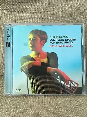 Philip Glass: Complete Études For Solo Piano, Sally Whitwell, Like New, 2 CDs