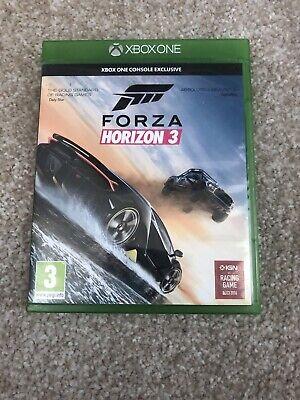 Forza horizon 3 Game for Microsoft XBOX ONE (used)