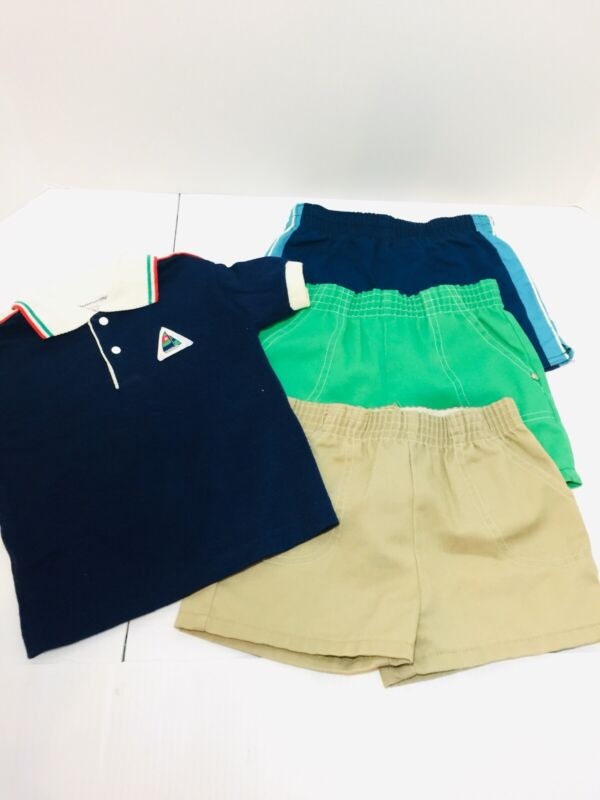 Lot of Vintage Retro Toddler Boy's size 4 - 4T Clothes Health Tex ++