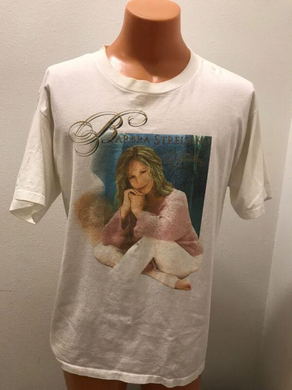 Vintage 2000 Barbra Streisand Timeless Concert T-Shirt Large