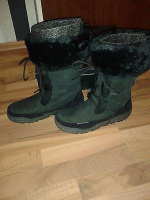 Ecco Siberia Damen Stiefel Gr:42 mit Fellfutter Mod:852503