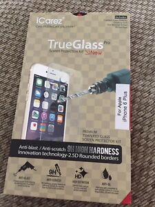 Brand new iPhone 6 Plus true glass screen protector