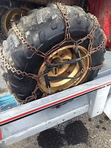 Rear Axle Tire Chains ATV 4 x 4 Quad Runner