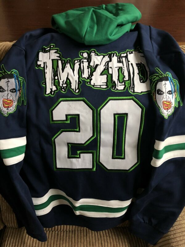 Twiztid * 20 * Freekshow on Front w/ Faces * Jersey / Hoodie * MNE / ICP 2X - 3X