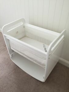 Natures Purest - Bassinet, Cot and Change Table White Hawthorne Brisbane South East Preview