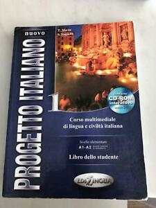 Nuovo Progetto Italiano 1 Text and Exercise book set with CDs