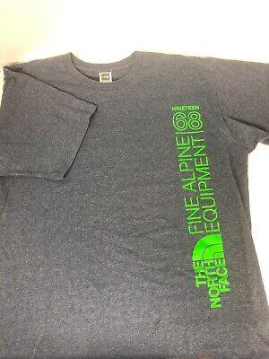 North Face Since 1968 Fine Alpine Equipment Men's Green T-Shirt XXL/TTG A66