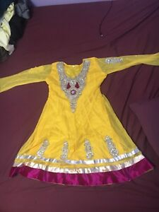 Indian dress no pants only frock