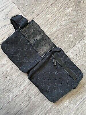 Vintage Black Gucci Waist Bumbag