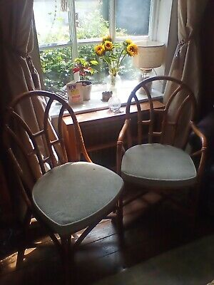 Original Angraves Two Matching  Cane dining Chairs