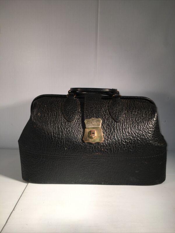 Vintage Schell Dr. Bag Top Grain Cow Rawhide Model 16-29-20