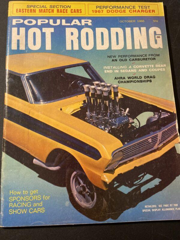 Vintage Popular Hot Rodding~ October 1966