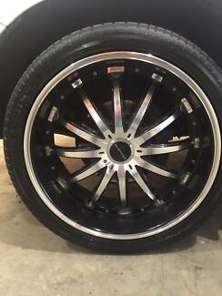 """24"""" Mag Wheels & Rims suit 200 series Toyota Land Cruiser 4x4 Naval Base Kwinana Area Preview"""