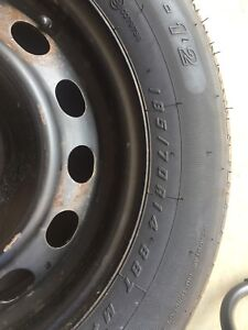 3 month old tires rims our used
