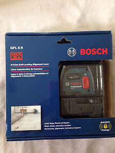 BOSCH 5 Point Self Levelling Alignment Laser
