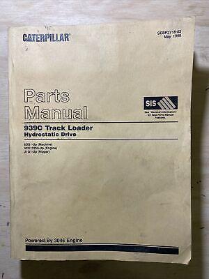 Cat Caterpillar 939c Track Loader - Hydrostatic Drive Parts Manual