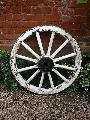 Antique Cart Wheel for Restoration (363P)