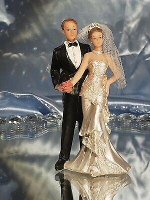Cake topper wedding resin beautiful detail