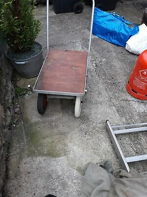 VINTAGE HAND CART GARDEN  CART  central bristol collect aluminium needs help