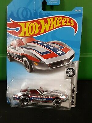 2019 Hot Wheels Treasure Hunt CORVETTE STINGRAY Super Chromes Series