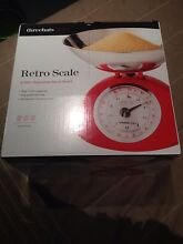 Retro kitchen scales red Epping Whittlesea Area Preview