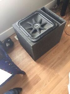 "Trade 15"" square kicker sub for a cheap car or truck"
