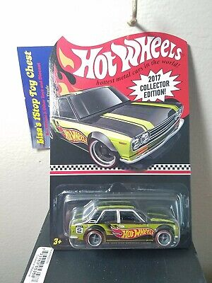 Hot Wheels 2017 Kmart Kday Mail-in COLLECTOR EDITION Datsun Bluebird 510