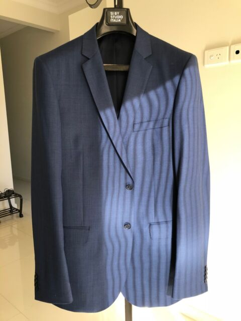 02bcafc7dc2ab1 Mens Wool Blue Suit (from Peter Shearer)