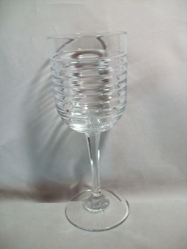 Ralph Lauren Crystal Addison Crystal Wine Glass New