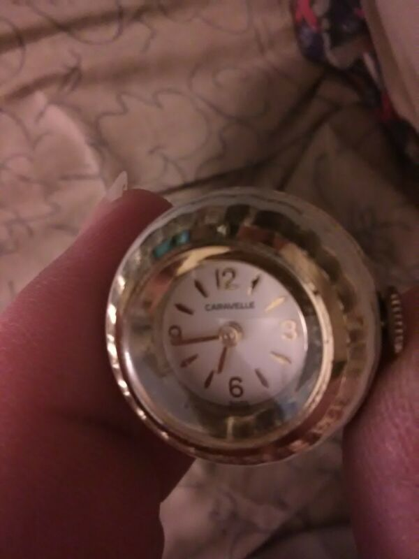 Caravelle Swiss Wind Up Bobbel Necklace Watch.