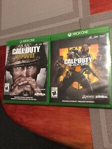 COD WWII and BO4