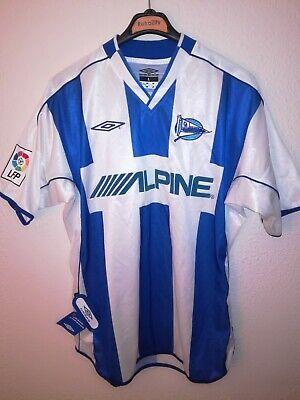 ALAVES 2002-2003 BNWT Alpine camiseta shirt trikot maillot maglia umbro image