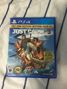 Just cause 3 day one edition  ps4