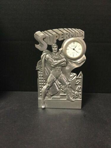 SUPERMAN 2000 DC Comics SEAGULL PEWTER RARE Clock 485/750