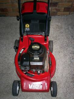 BRIGGS STRATTON 4 STROKE,SERVICED VICTA LAWN MOWER.CATCHER! Runcorn Brisbane South West Preview