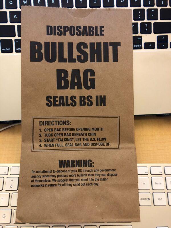 Bullshit Bags 10 pack - Gag Gift
