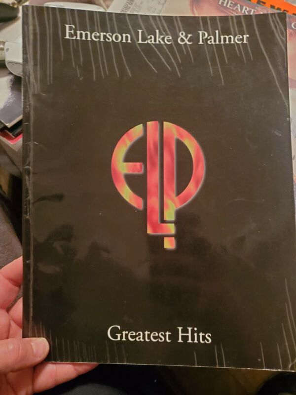 ELP GREATEST HITS EMERSON LAKE PALMER sheet music songbook book pvg rare