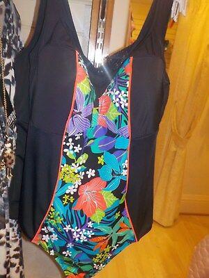Elomi Cubana Mid Rise Bikini Brief Pant Black 7094 New Womens Swimwear