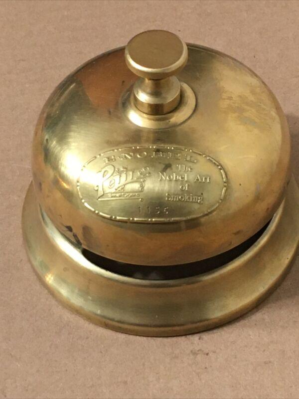 Rare E Nobel Petite Cigar Advertising counter top Service Bell
