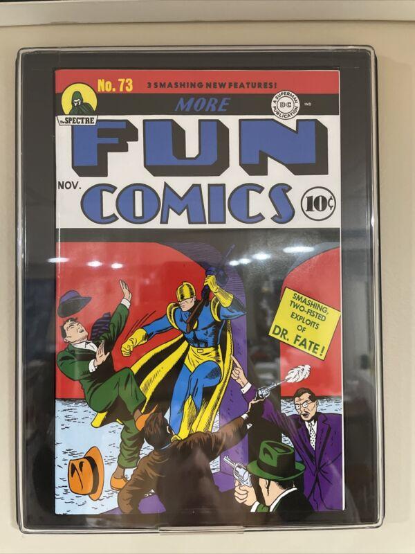 Loot Crate Reprint More Fun Comics #73 1st Aquaman, Green Arrow with DC COA