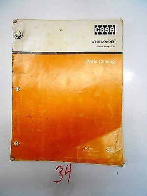 Case W14B Loader Parts Catalog Manual 8-2360  11/85
