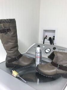 ALDO winter boots size 7.5 color is brown