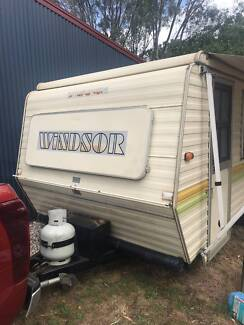 Windsor pop top caravan Yackandandah Indigo Area Preview